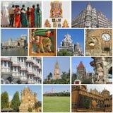 Mumbai collage Arkivfoto