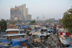 Mumbai contrasts Stock Photography