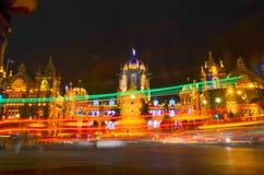 Mumbai CST Fotografering för Bildbyråer