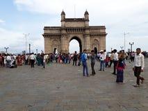 Mumbai, de poort van India royalty-vrije stock afbeelding