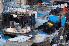 Mumbai Dhobi Ghat Royalty Free Stock Photo