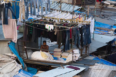 Mumbai Dhobi Ghat Royalty Free Stock Photos