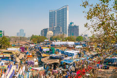 Mumbai Dhobi Ghat Stock Photos