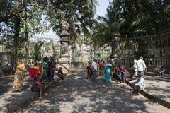 Mumbai gata india Royaltyfria Bilder