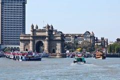 Mumbai, Gateway de l'Inde Images libres de droits