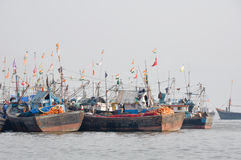 Mumbai Harbor (India) Stock Images
