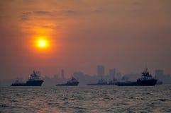 Mumbai harbor Royalty Free Stock Photography