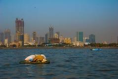 Mumbai huvudstad av Indien arkivfoton