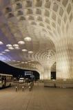 Mumbai, Inde - 5 janvier 2015 : Visite de touristes Chhatrapati Shivaji International Airport Images stock