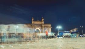 Mumbai india 2016 Arkivbilder