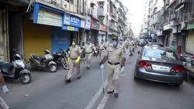 Coronavirus India lockdown - Police patrolling