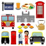 MUMBAI INDIA stock illustration