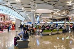 Mumbai, India - December25, 2014: Acquisto turistico alla franchigia Fotografia Stock