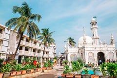Haji Ali Dargah mosque in Mumbai, India. Mumbai, India - December 18, 2017 : Haji Ali Dargah mosque royalty free stock photos