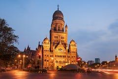 Municipal Corporation Building. MUMBAI, INDIA - FEBRUARY 21: The Municipal Corporation Building on Febuary 21, 2014 in Mumbai, India Stock Photography