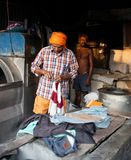 Dhobi Ghat in Mumbai, Maharashtra, India Royalty Free Stock Photos