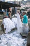 Dhobi Ghat in Mumbai, Maharashtra, India Royalty Free Stock Photo