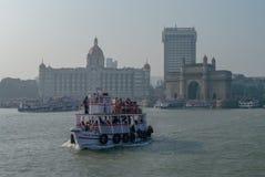 MUMBAI, INDIA - January 1, 2012: The Taj Mahal Palace Hotel Royalty Free Stock Image