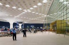 Mumbai, India - January 5, 2015: Tourist visit Chhatrapati Shivaji International Airport. Stock Photography