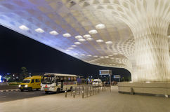Mumbai, India - January 5, 2015: Travelers visit Chhatrapati Shivaji International Airport. Royalty Free Stock Photography