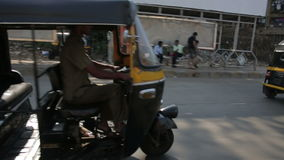 MUMBAI, INDIA - MARCH 2013: Everyday traffic scene