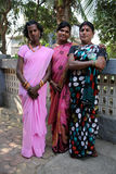 MUMBAI, INDIA - MARCH 2013: traditional clothing indian gays Stock Photos