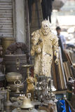 MUMBAI, INDIA - may 2014: Chor Bazaar - Antique Indian Thieves M Royalty Free Stock Photo