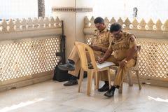 Mumbai-16.01.2019:The indian police duty in Mumbai