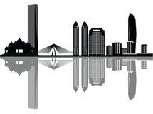 Mumbai linia horyzontu ilustracja wektor