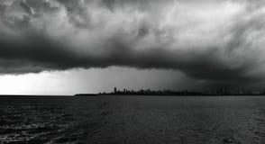 Mumbai linia horyzontu Zdjęcia Royalty Free