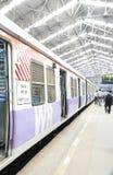 Mumbai local train Stock Images