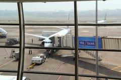 MUMBAI, MAHARASHTRA, INDIA - 13 NOV. 2014: Indira Gandhi International Airport. Royalty Free Stock Photos
