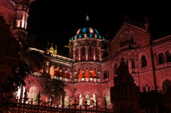 Mumbai municipal building celebration lighting-VI Stock Photography