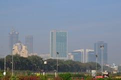 Mumbai-Nebel stockfoto