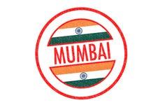 MUMBAI. Passport-style MUMBAI India rubber stamp over a white background Stock Image