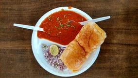 Mumbai pav bhaji. Royalty Free Stock Image