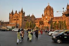 Mumbai Population Royalty Free Stock Photo