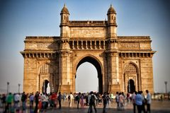 Mumbai, porta de India Foto de Stock Royalty Free