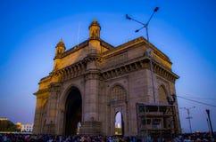 Mumbai, porte de l'Inde photos libres de droits