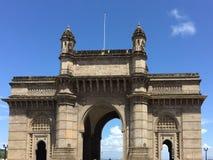 Mumbai, porte de l'Inde photo stock