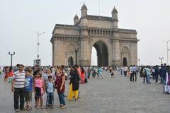 Mumbai, porte de l'Inde Photos stock