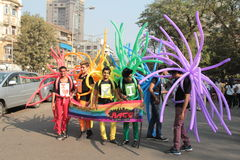 Mumbai Pride march Royalty Free Stock Photography