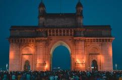 Mumbai, puerta de la India fotografía de archivo libre de regalías