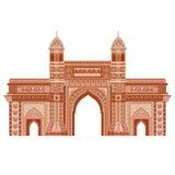 Mumbai, puerta de la India libre illustration