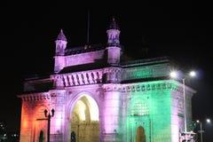 Mumbai, puerta de la India Imágenes de archivo libres de regalías