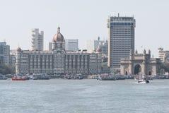 Mumbai, puerta de la India fotografía de archivo