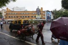 Mumbai in regens Royalty-vrije Stock Afbeeldingen