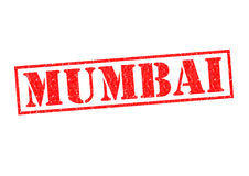MUMBAI. Rubber Stamp over a white background Stock Photo