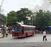 Mumbai's BEST Bus Royalty Free Stock Image