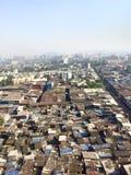 Mumbai's Slums. Rows of Slums in Mumbai India royalty free stock photography